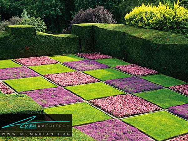 طرح های گل برای زیباسازی باغچه ، روف گاردن و فضاهای سبز خانه