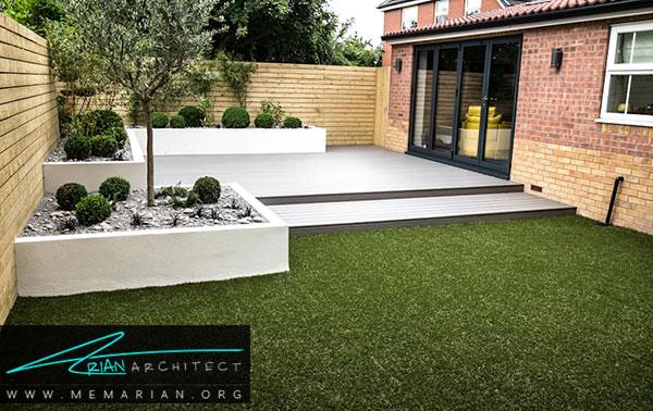زیباسازی باغچه ، روف گاردن و فضاهای سبز خانه