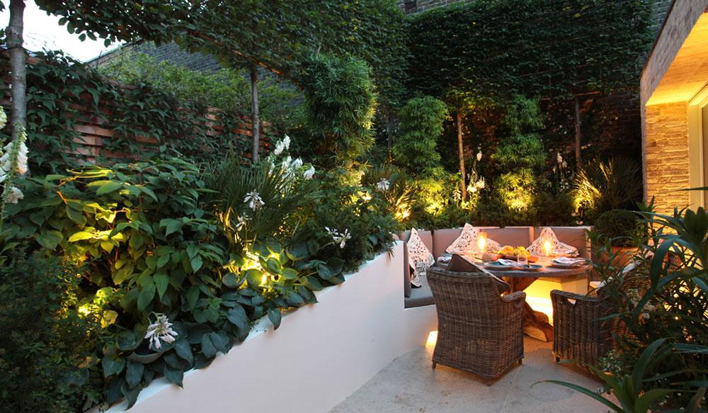 انواع چراغ های باغچه و سیستم های روشنایی در فضاهای سبز