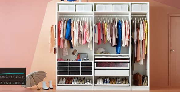 ایده های کمد لباس و فضاهای ذخیره سازی مناسب در خانه