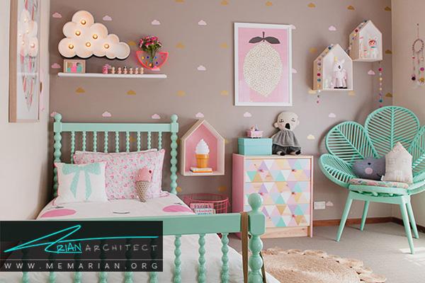 مبلمان های خلاقانه در دکوراسیون اتاق خواب