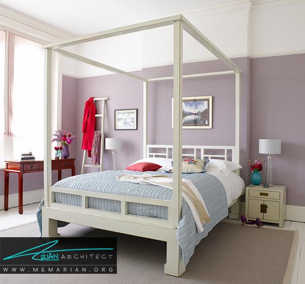 تخت خواب های سایبان دار در دکوراسیون اتاق خواب