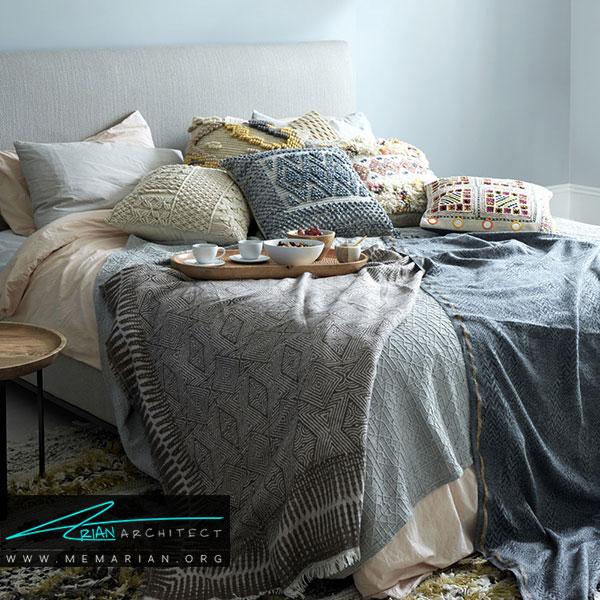 کنار کذاشتن اشیاء اضافی در دکوراسیون اتاق خواب