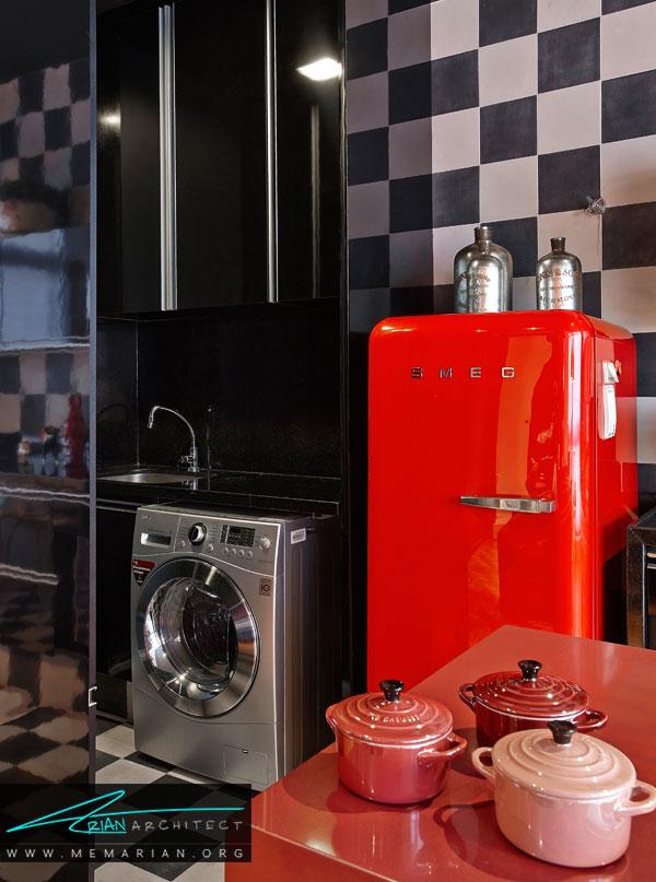 آشپزخانه در دکوراسیون آپارتمان ها کوچک
