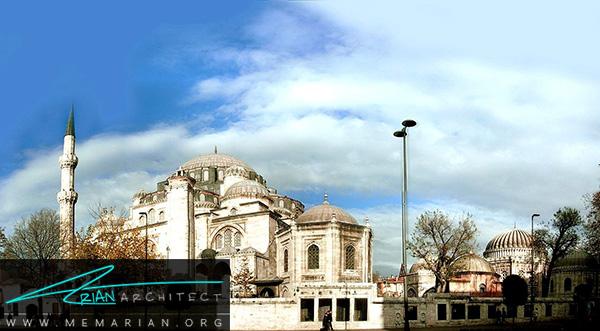 معماری مساجد ترکیه در مسجد شاهزاده محمد