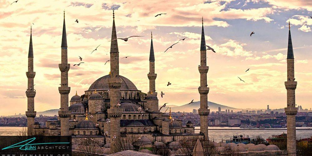 معماری ترکیه و مساجد ترکیه