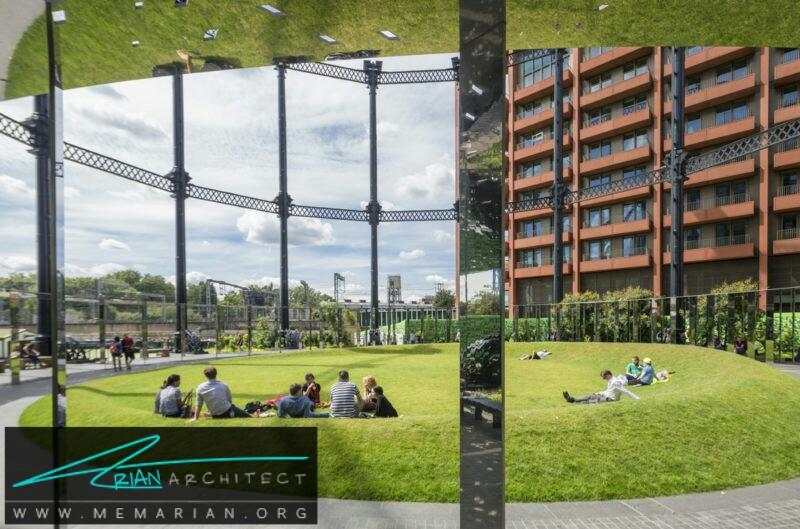 گاشورد پارک - نمایشگاه معماری RIBA