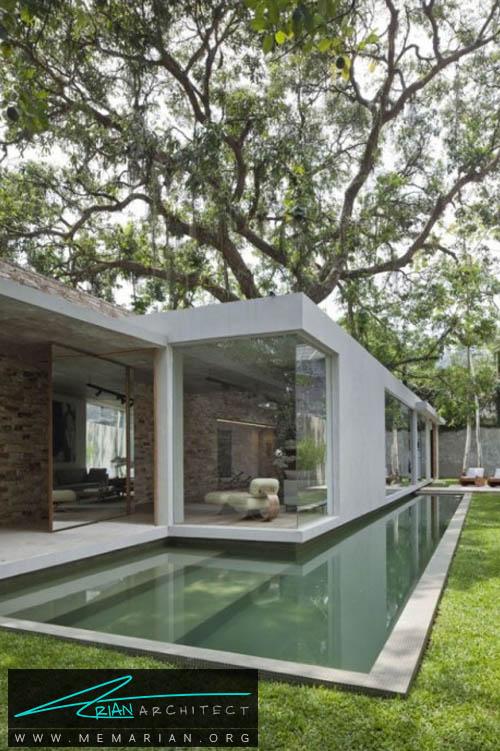 کاسا وگو توسط آلساندرو سارتر - معماری بدون قطع درخت