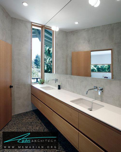 آینه در دکوراسیون حمام - 13 نمونه از زیباترین دکوراسیون آینه حمام