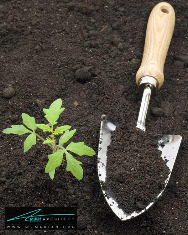 خاک گیاهان باغچه حیاط - ساده ترین ایده ها و راهکارهای زیباسازی حیاط منزل با پوشش گیاهی