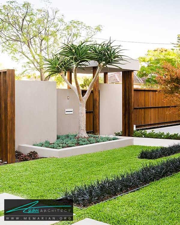 پوشش گیاهی زیبا در حیاط - ایده ها و راهکارهای زیباسازی حیاط منزل