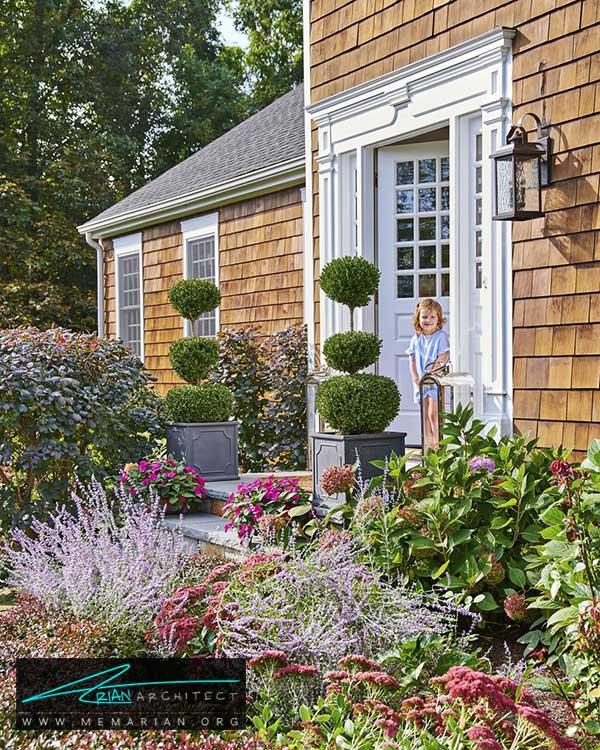 تنوع گیاهان در حیاط خانه - ایده ها و راهکارهای زیباسازی حیاط منزل