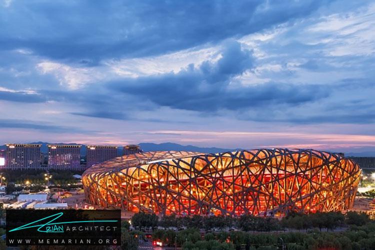 ورزشگاه ملی پکن - راهنماهای سفر به مکان هایی با بهترین آثار معماری جهان