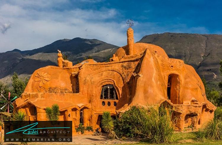 خانه کاسا تراکوتا - راهنماهای سفر به مکان هایی با بهترین آثار معماری جهان