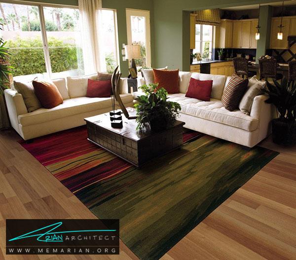 رنگ فرش - چگونه فرش مناسب خانه هایمان را انتخاب کنیم؟