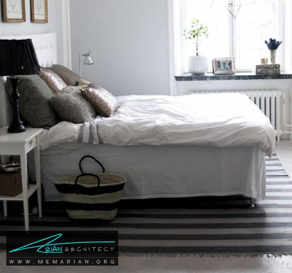 فرش در دکوراسیون اتاق خواب - چگونه فرش مناسب خانه هایمان را انتخاب کنیم؟