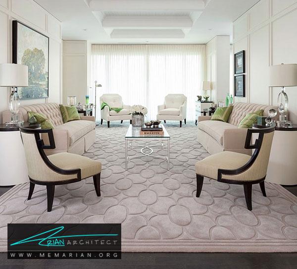 فرش در دکوراسیون نشیمن - چگونه فرش مناسب خانه هایمان را انتخاب کنیم؟