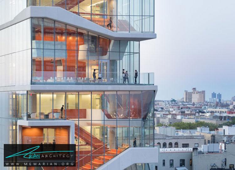 معماری ساختمان دانشگاه کلمبیا - 9 نمونه از بهترین ساختمانهای جدید دانشگاه در سراسر جهان