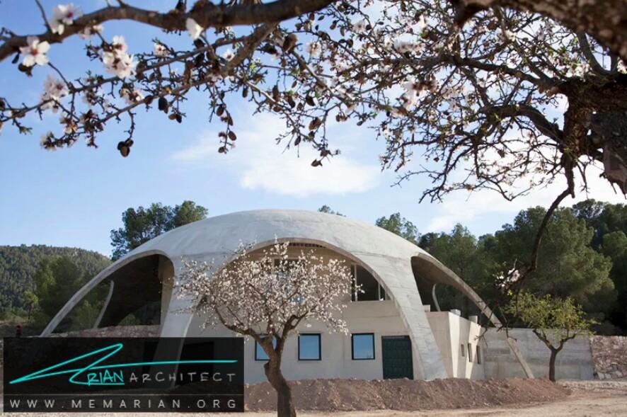 گنبد محافظ: معماری نگهدارنده و زیبا - سازه بتنی