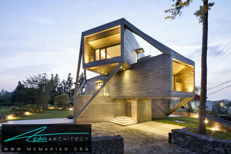 زاویه پویا: معماریخانه طبقاتی - سازه بتنی