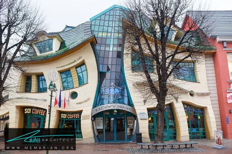 خانه کج و کوله - راهنماهای سفر به مکان هایی با بهترین آثار معماری جهان