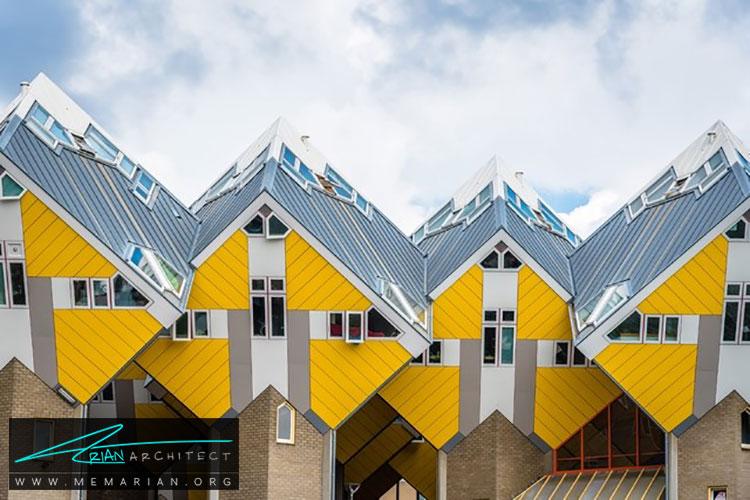 خانه های مکعبی - راهنماهای سفر به مکان هایی با بهترین آثار معماری جهان