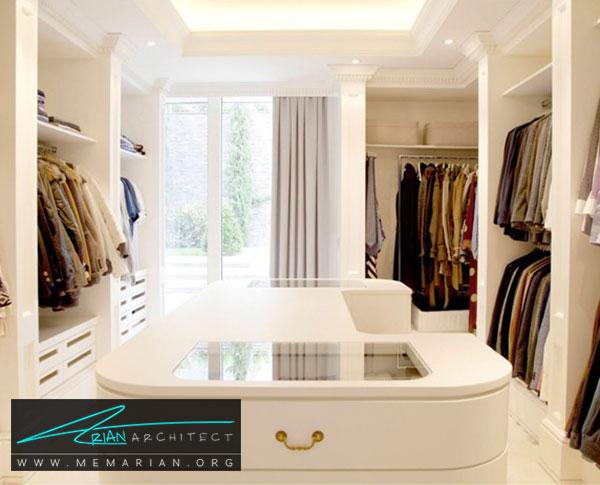 هدف طراحی اتاق لباس - طراحی اتاق لباس در خانه مستلزم رعایت چه نکاتی است؟
