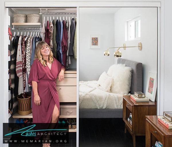 اتاق لباس در اتاق خواب - طراحی اتاق لباس در خانه مستلزم رعایت چه نکاتی است؟
