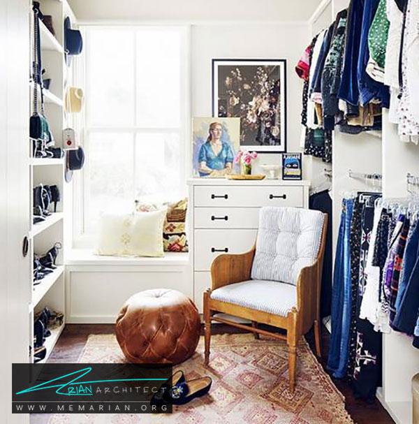 سبک طراحی اتاق لباس - طراحی اتاق لباس در خانه مستلزم رعایت چه نکاتی است؟