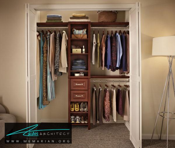 دیوارهای اتاق لباس - طراحی اتاق لباس در خانه مستلزم رعایت چه نکاتی است؟