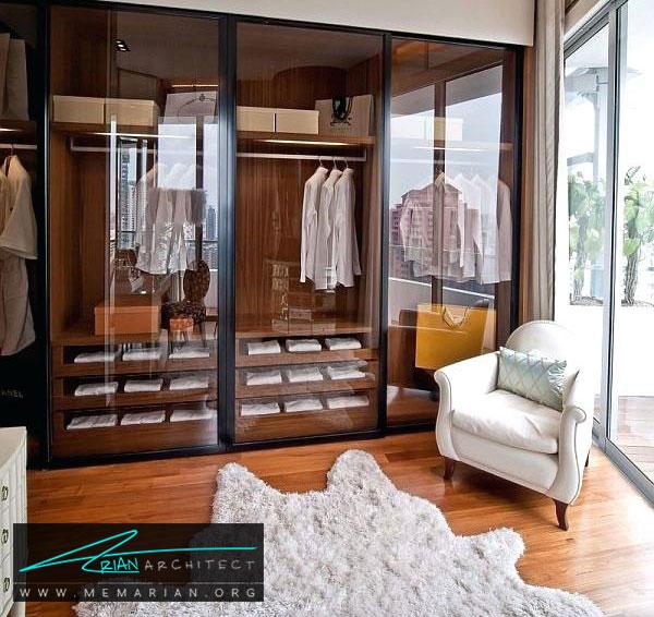 ایده طراحی اتاق لباس - طراحی اتاق لباس در خانه مستلزم رعایت چه نکاتی است؟