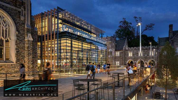 معماری ساختمان دانشگاه دوک - 9 نمونه از بهترین ساختمانهای جدید دانشگاه در سراسر جهان