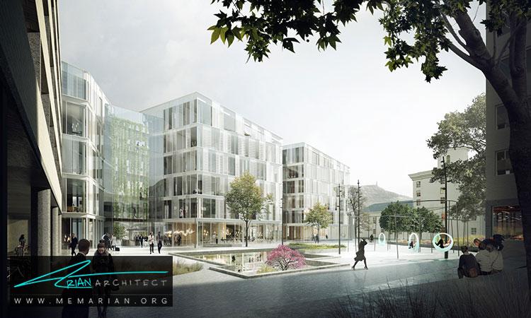 معماری ساختمان دانشگاه برگن - 9 نمونه از بهترین ساختمانهای جدید دانشگاه در سراسر جهان