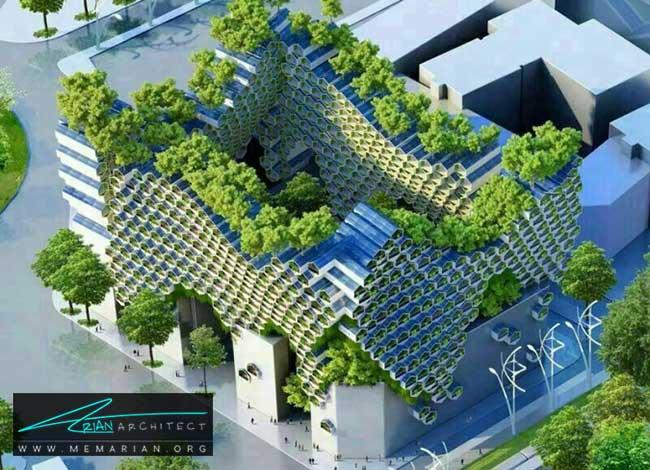 معماری پایدار - 9 ساختمان که اثربخشی معماری سبز را اثبات می کند.