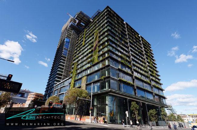 ساختمان پارک مرکزی در استرالیا - 9 ساختمان که اثربخشی معماری سبز را اثبات می کند.