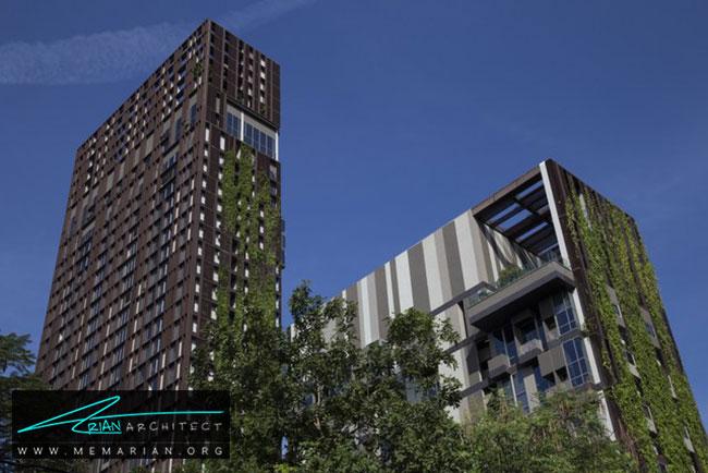 مجتمع مسکونی اشتون مورف - 9 ساختمان که اثربخشی معماری سبز را اثبات می کند.