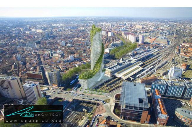 برج اکسیتان فرانسه - 9 ساختمان که اثربخشی معماری سبز را اثبات می کند.