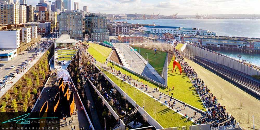 بهترین بام های سبز ساختمان های سراسر جهان