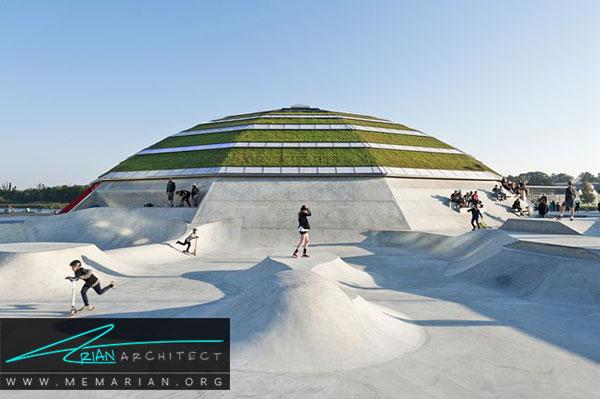 بام سبز در دانمارک- معرفی 12 نمونه از معماری بام سبز در سراسر جهان