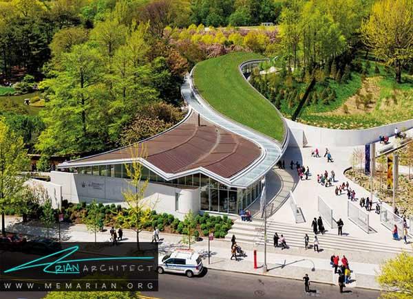 بام سبز در آمریکا- معرفی 12 نمونه از معماری بام سبز در سراسر جهان