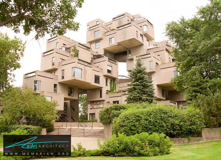 ساختمان هبیتات 67 - راهنماهای سفر به مکان هایی با بهترین آثار معماری جهان