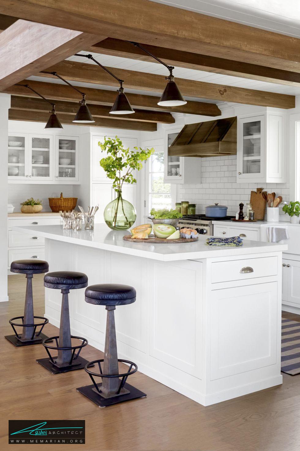 صفحات میز ضدخش و بادوام - 20 ایده جذاب برای چیدمان دکوراسیون آشپزخانه