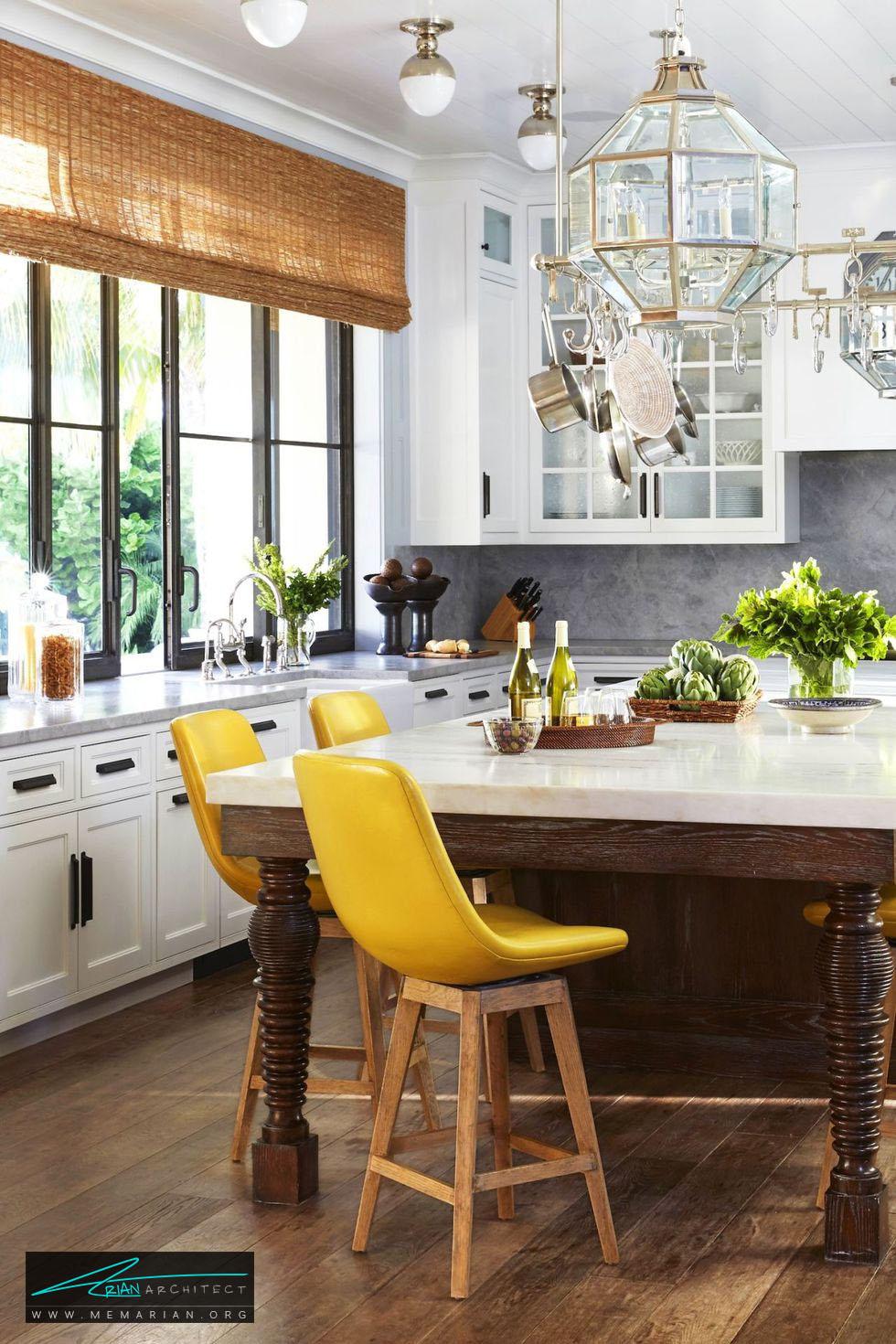 میز ناهارخوری شیک و ساده - 20 ایده جذاب برای چیدمان دکوراسیون آشپزخانه