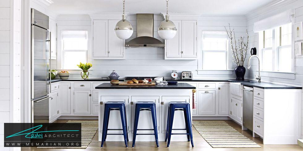 قالیچه های متوازن - 20 ایده جذاب برای دکوراسیون آشپزخانه