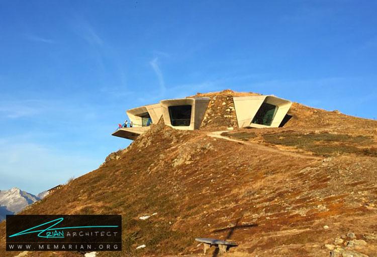 موزه کوه مسنر - راهنماهای سفر به مکان هایی با بهترین آثار معماری جهان