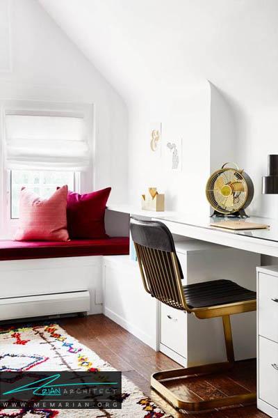 رنگ زمینه سفید ، اولین و آخرین انتخاب شما - 10 دکوراسیون دفتر کار که به شما انگیزه کار می دهد