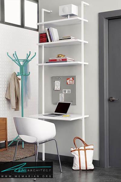 نهایت استفاده از دیوار اتاق - 10 دکوراسیون دفتر کار که به شما انگیزه کار می دهد