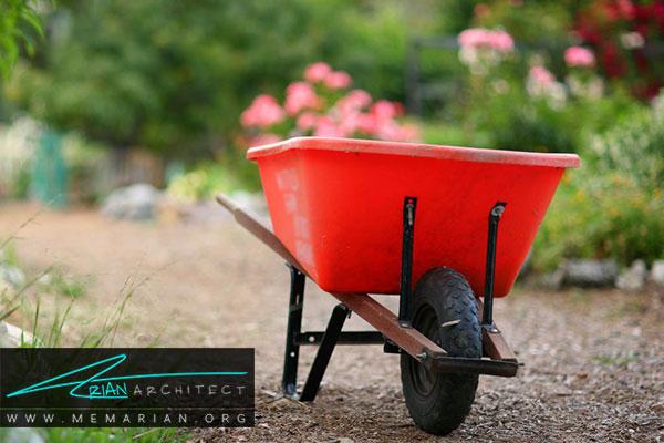 پاکسازی باغچه - طراحی باغچه ارگانیک در حیاط خانه