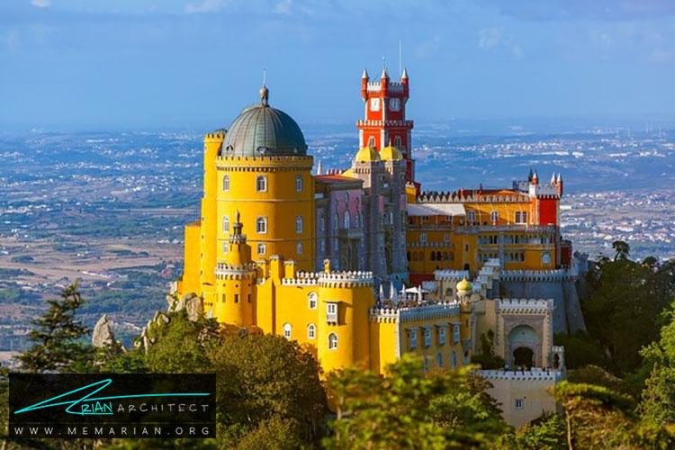 پالاسیو ناسیونال پنا - راهنماهای سفر به مکان هایی با بهترین آثار معماری جهان