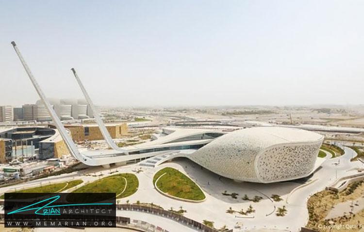 دانشکده مطالعات اسلامی قطر - راهنماهای سفر به مکان هایی با بهترین آثار معماری جهان